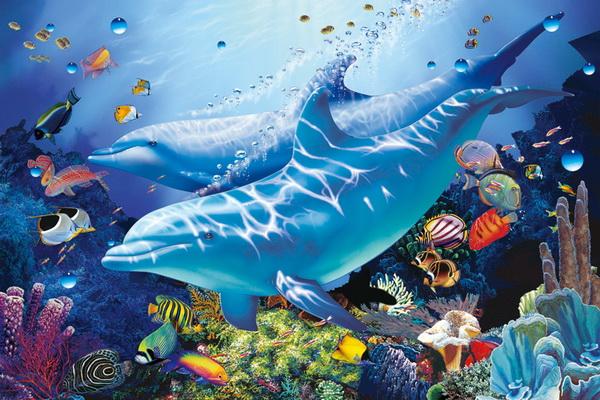 壁纸 海底 海底世界 海洋馆 水族馆 桌面 600_400